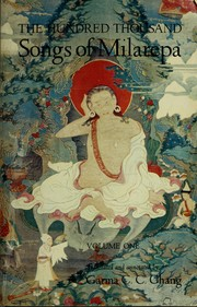 Cover of: The hundred thousand songs of Milarepa by Mi-la-ras-pa