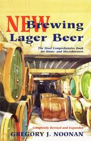 Cover of: New brewing lager beer