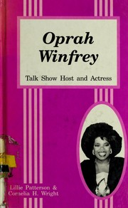 Cover of: Oprah Winfrey | Lillie Patterson