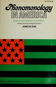 Phenomenology in America