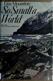 Cover of: So small a world