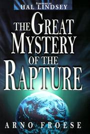 Cover of: The great mystery of the rapture