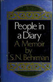 Cover of: People in a diary