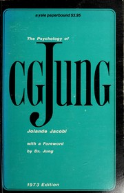 Cover of: The psychology of C. G. Jung | Jolande SzeМЃkaМЃcs Jacobi