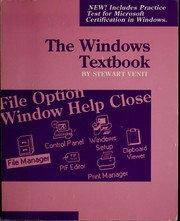 Cover of: The Windows textbook