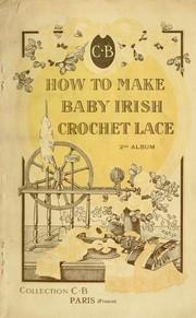How to make baby Irish crochet lace