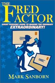 Cover of: The Fred Factor | Mark Sanborn