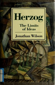 Cover of: Herzog | Jonathan Wilson
