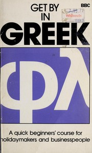 Cover of: Get by in Greek | David A. Hardy