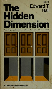 Cover of: The hidden dimension | Edward Twitchell Hall