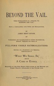 Cover of: Beyond the vail. | Jabez Hunt Nixon
