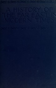 Cover of: A history of the Far East in modern times