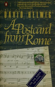 Cover of: A Postcard from Rome | David Helwig