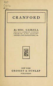 Cover of: Cranford