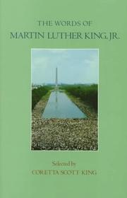 Cover of: The words of Martin Luther King, Jr.