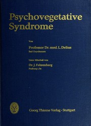 Cover of: Psychovegetative Syndrome