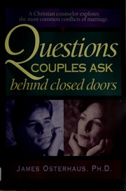 Cover of: Questions couples ask behind closed doors | James P. Osterhaus
