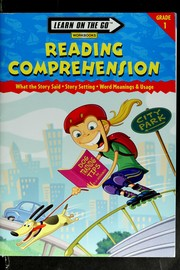 Cover of: Reading comprehension | Learning Horizons, Inc