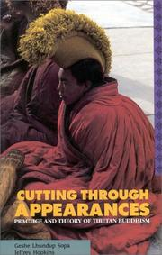 Cover of: Cutting Through Appearances
