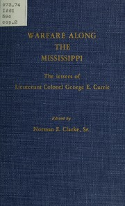 Cover of: Warfare along the Mississippi