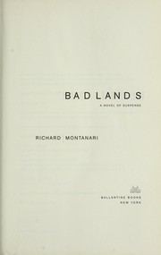 Cover of: Badlands: a novel of suspense