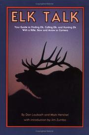 Cover of: Elk Talk
