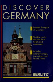 Cover of: Berlitz Discover Germany | Jack Altman