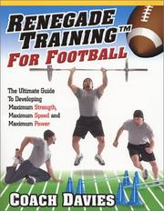 Cover of: Renegade Training for Football