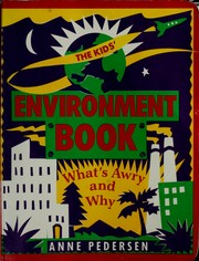 Cover of: The kids' environment book