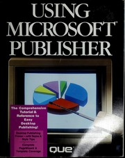 Cover of: Using Microsoft Publisher