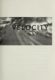 Cover of: Velocity | Dean Koontz.