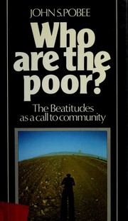 Cover of: Who Are the Poor