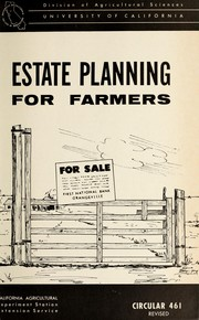 Estate planning for farmers by