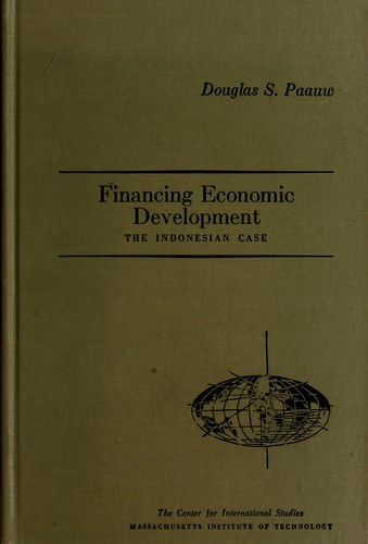 Financing economic development by Douglas S. Paauw