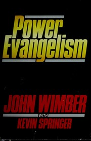 Cover of: Power evangelism | John Wimber