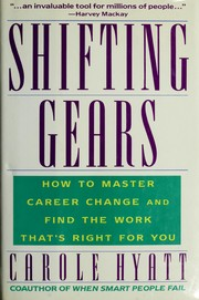 Cover of: Shifting gears