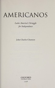 Cover of: Americanos