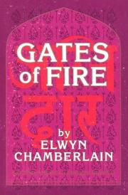 Cover of: Gates of fire