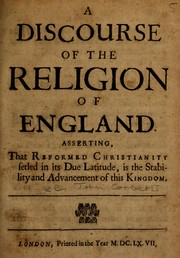 A discourse of the religion of England