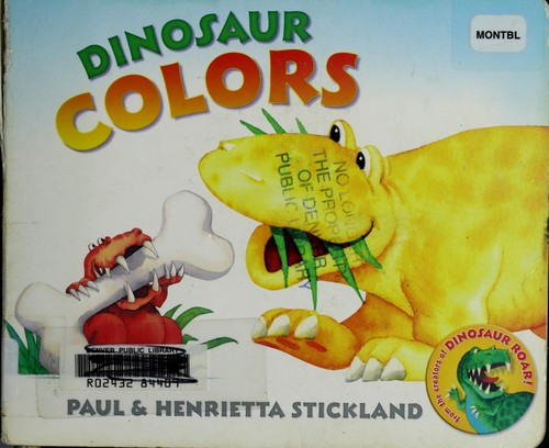 Dinosaur colors by Henrietta Stickland
