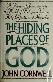 Cover of: The Hiding Places of God | Cornwell, John