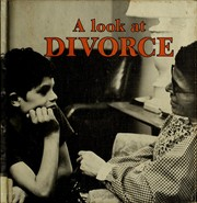 Cover of: A look at divorce | Maria S. Forrai