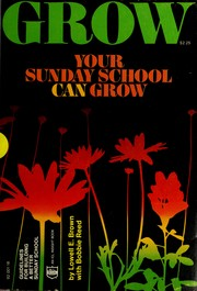Cover of: Your Sunday school can grow | Lowell E. Brown