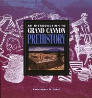 Cover of: An introduction to Grand Canyon prehistory