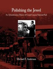 Cover of: Polishing the jewel | Michael F. Anderson