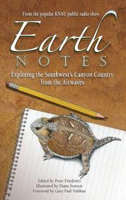 Cover of: Earth notes