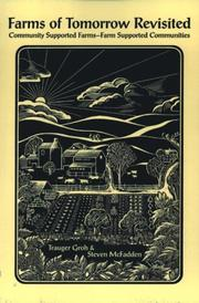 Cover of: Farms of Tomorrow