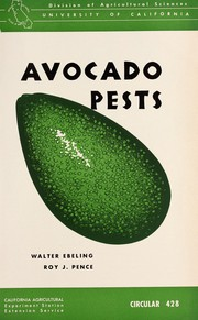 Cover of: Avocado Pests