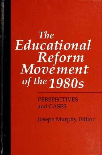 history of educational reform Early reforms for most of the state's history, education has been a local function , with local school boards making decisions regarding the funding and operations of schools at the city or county level over time the state has assumed more responsibility georgia's first major statewide education initiative came in 1916, when.