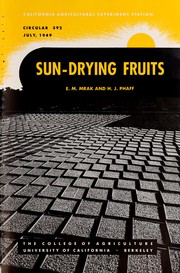 Cover of: Sun-drying fruits
